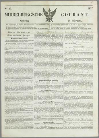 Middelburgsche Courant 1857-02-28
