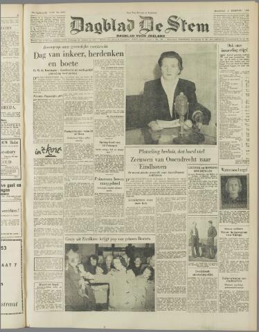 de Stem 1953-02-09