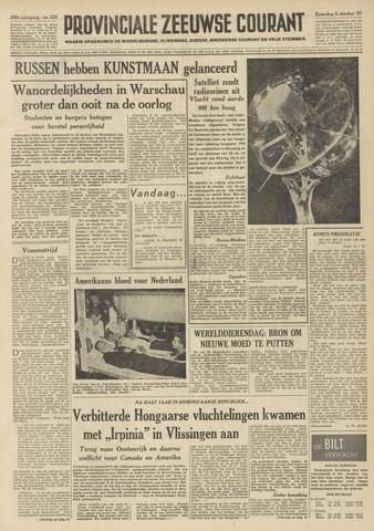 Provinciale Zeeuwse Courant 1957-10-05