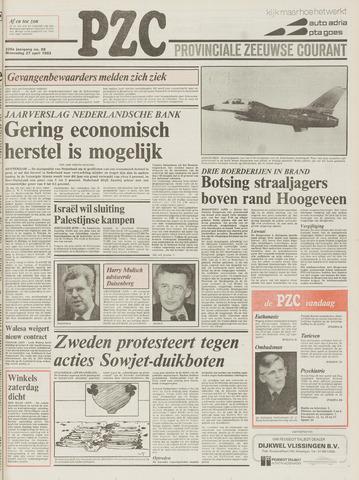 Provinciale Zeeuwse Courant 1983-04-27