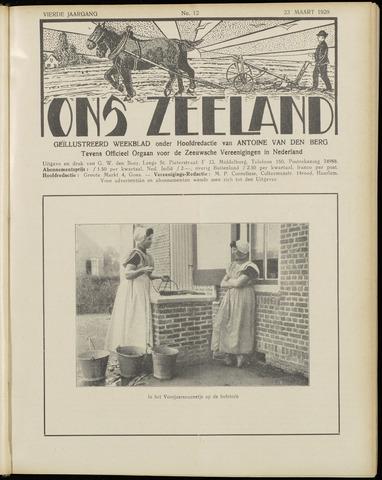 Ons Zeeland / Zeeuwsche editie 1929-03-23