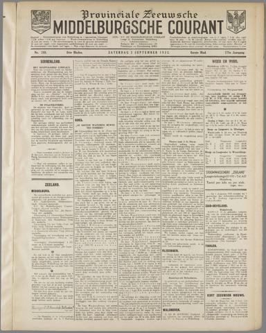 Middelburgsche Courant 1932-09-03