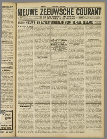 Nieuwe Zeeuwsche Courant 1929-04-04