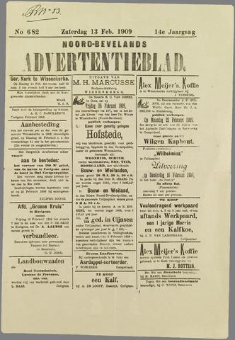 Noord-Bevelands Nieuws- en advertentieblad 1909