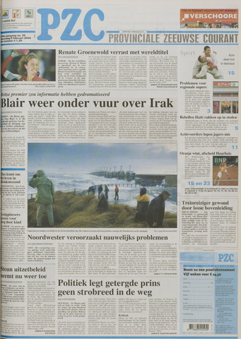 Provinciale Zeeuwse Courant 2004-02-09