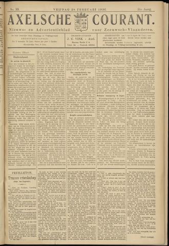 Axelsche Courant 1936-02-28