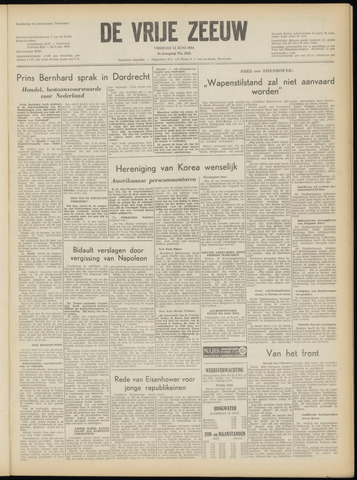 de Vrije Zeeuw 1953-06-12