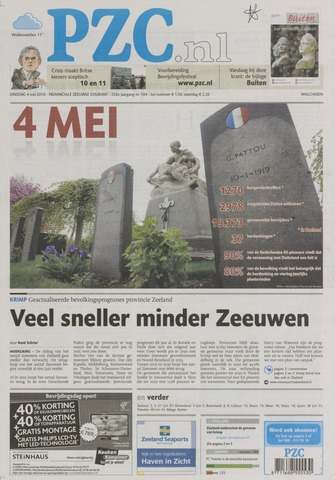 Provinciale Zeeuwse Courant 2010-05-04