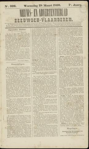 Ter Neuzensche Courant. Algemeen Nieuws- en Advertentieblad voor Zeeuwsch-Vlaanderen / Neuzensche Courant ... (idem) / (Algemeen) nieuws en advertentieblad voor Zeeuwsch-Vlaanderen 1860-03-28