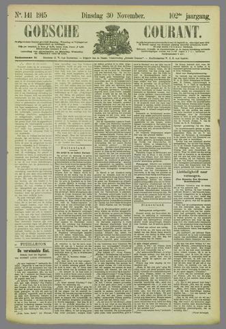 Goessche Courant 1915-11-30