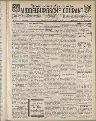 Middelburgsche Courant 1932-01-13