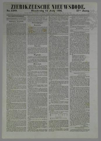 Zierikzeesche Nieuwsbode 1881-07-14