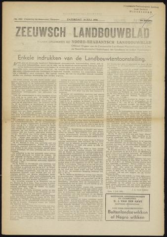 Zeeuwsch landbouwblad ... ZLM land- en tuinbouwblad 1954-07-10
