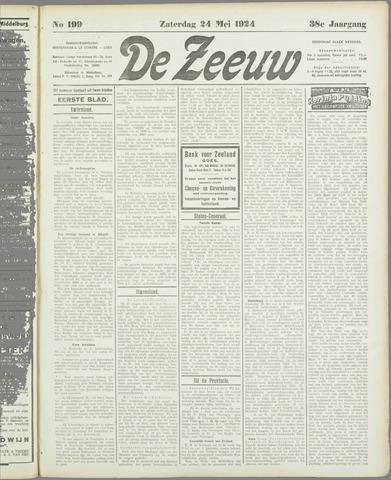 De Zeeuw. Christelijk-historisch nieuwsblad voor Zeeland 1924-05-24