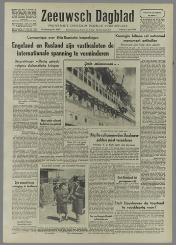 Zeeuwsch Dagblad 1956-04-27