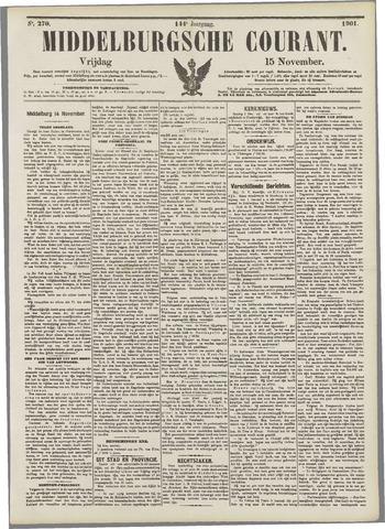 Middelburgsche Courant 1901-11-15