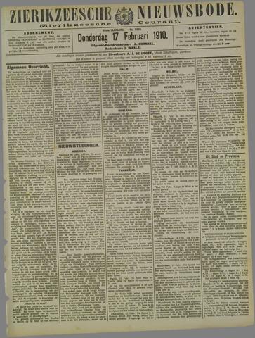 Zierikzeesche Nieuwsbode 1910-02-17