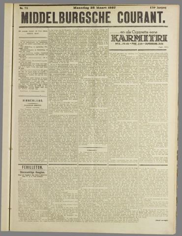 Middelburgsche Courant 1927-03-28