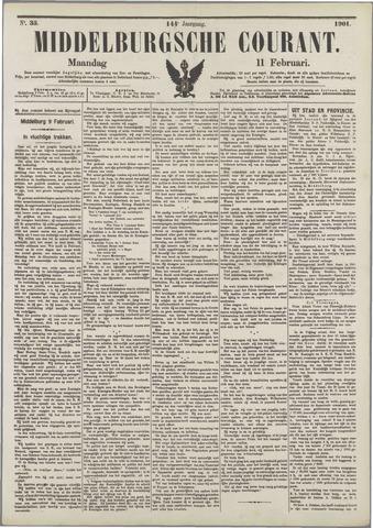 Middelburgsche Courant 1901-02-11