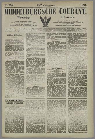 Middelburgsche Courant 1887-11-02