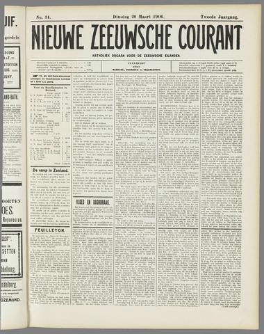 Nieuwe Zeeuwsche Courant 1906-03-20