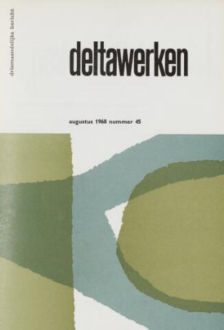 Driemaandelijks bericht Deltawerken 1968-08-01