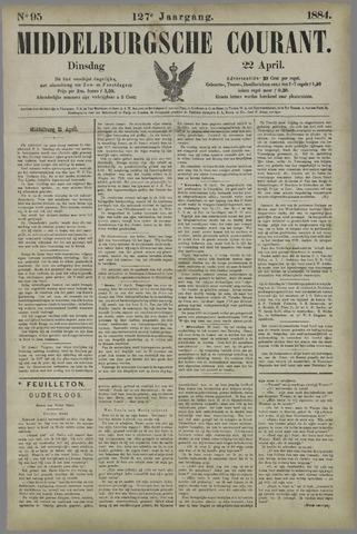 Middelburgsche Courant 1884-04-22