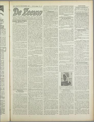 De Zeeuw. Christelijk-historisch nieuwsblad voor Zeeland 1943-12-20