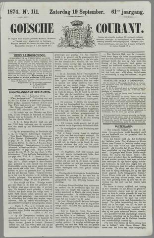 Goessche Courant 1874-09-19