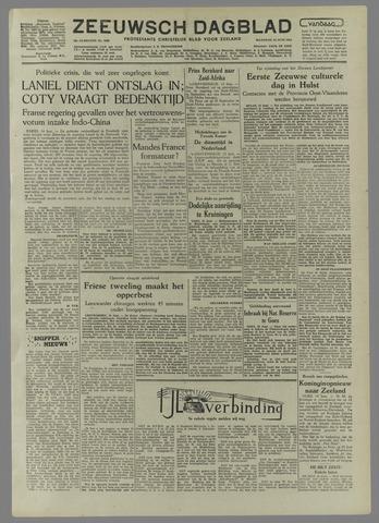 Zeeuwsch Dagblad 1954-06-14