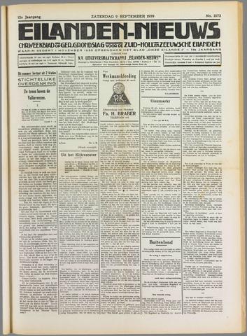 Eilanden-nieuws. Christelijk streekblad op gereformeerde grondslag 1939-09-09
