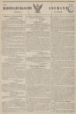 Middelburgsche Courant 1853-01-22