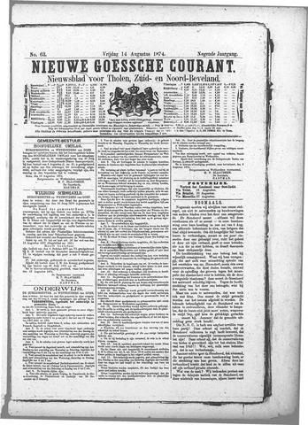 Nieuwe Goessche Courant 1874-08-14