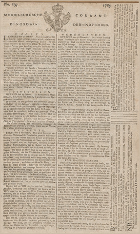 Middelburgsche Courant 1785-11-15