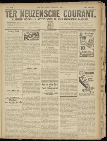 Ter Neuzensche Courant. Algemeen Nieuws- en Advertentieblad voor Zeeuwsch-Vlaanderen / Neuzensche Courant ... (idem) / (Algemeen) nieuws en advertentieblad voor Zeeuwsch-Vlaanderen 1929-09-20