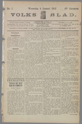 Volksblad 1922-01-04