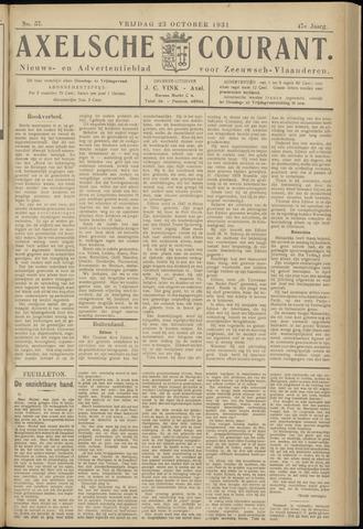 Axelsche Courant 1931-10-23