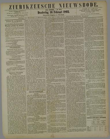 Zierikzeesche Nieuwsbode 1893-02-16