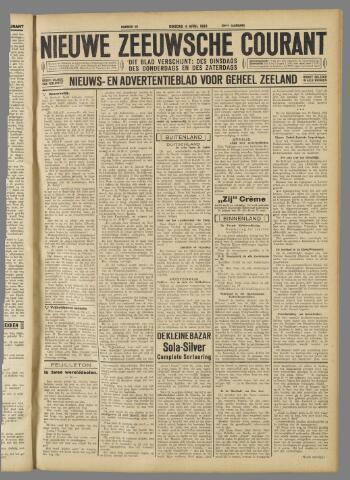 Nieuwe Zeeuwsche Courant 1933-04-04