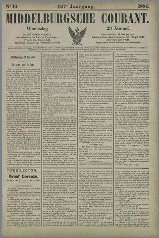Middelburgsche Courant 1884-01-23