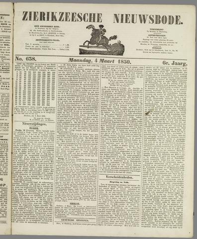 Zierikzeesche Nieuwsbode 1850-03-04