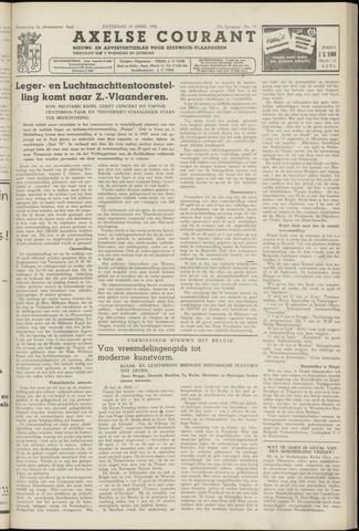 Axelsche Courant 1958-04-19