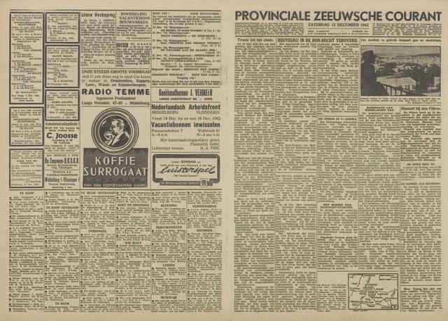 Provinciale Zeeuwse Courant 1942-12-12