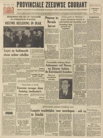 Provinciale Zeeuwse Courant 1963-02-09