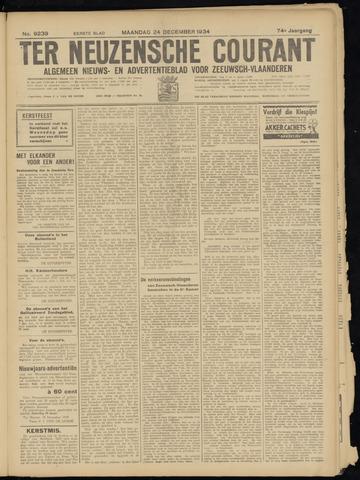 Ter Neuzensche Courant. Algemeen Nieuws- en Advertentieblad voor Zeeuwsch-Vlaanderen / Neuzensche Courant ... (idem) / (Algemeen) nieuws en advertentieblad voor Zeeuwsch-Vlaanderen 1934-12-24