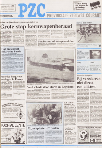 Provinciale Zeeuwse Courant 1990-02-09