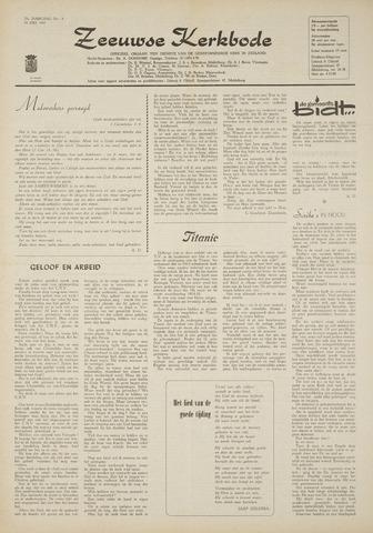 Zeeuwsche kerkbode, weekblad gewijd aan de belangen der gereformeerde kerken/ Zeeuwsch kerkblad 1969-07-24