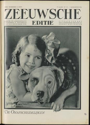 Ons Zeeland / Zeeuwsche editie 1931-08-07