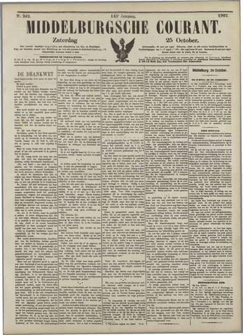 Middelburgsche Courant 1902-10-25