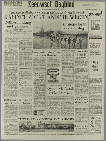 Zeeuwsch Dagblad 1961-12-27